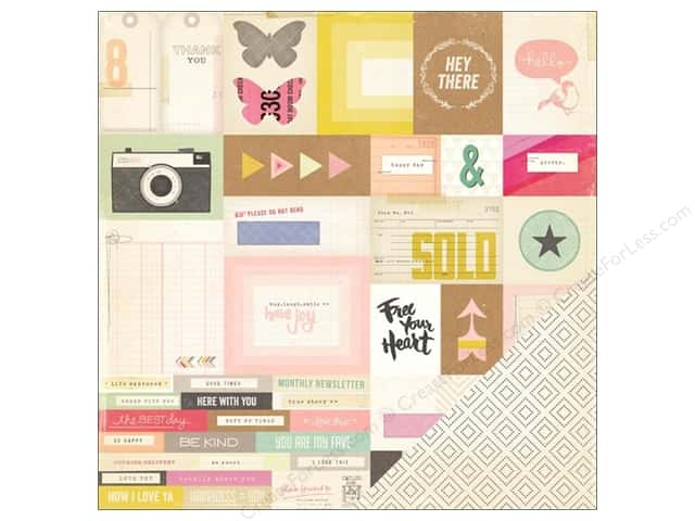 Crate Paper 12 x 12 in. Paper Notes & Things Memo (25 sheets)