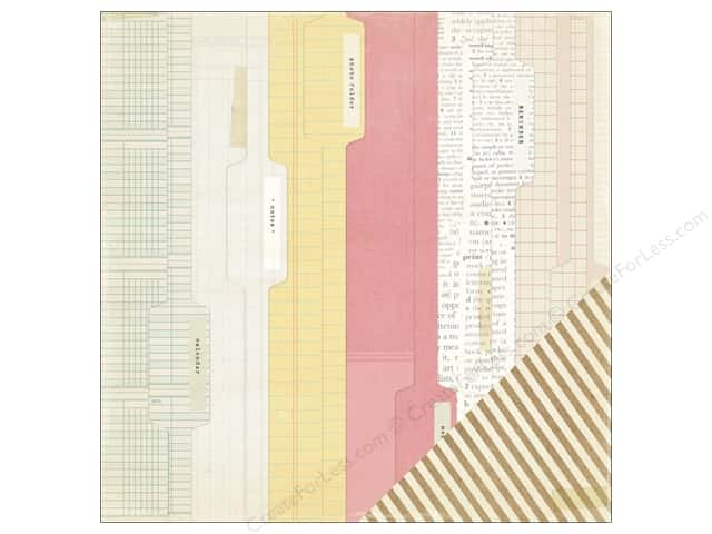 Crate Paper 12 x 12 in. Paper Notes & Things Noted (25 sheets)