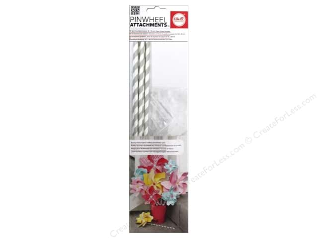 We R Memory Keepers Pinwheel Attachments Gray