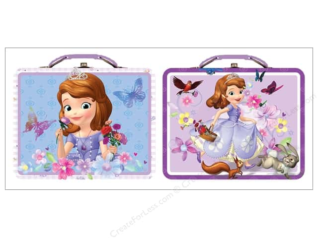 Tin Box Co Carry All Tin Large Disney Sofia 1 pc.