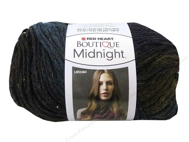 Red Heart Boutique Midnight Yarn #9803 Borealis 153 yd.