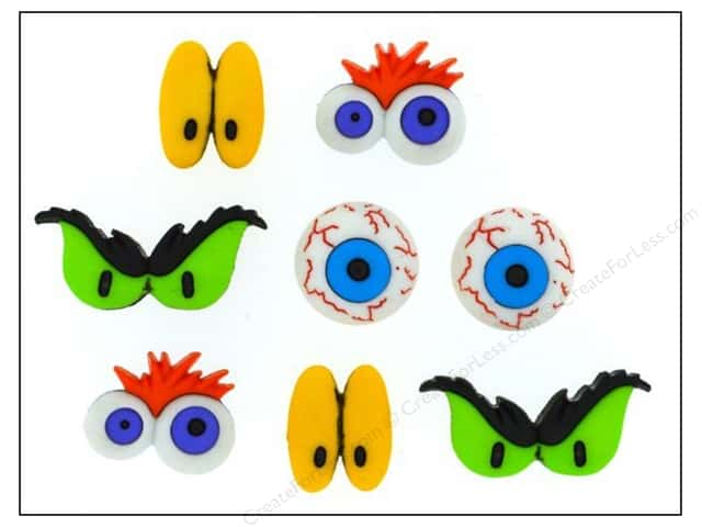 Jesse James Dress It Up Embellishments Monster Eyes