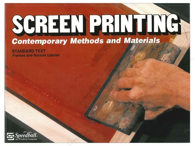 Speedball Screen Printing Textbook Book