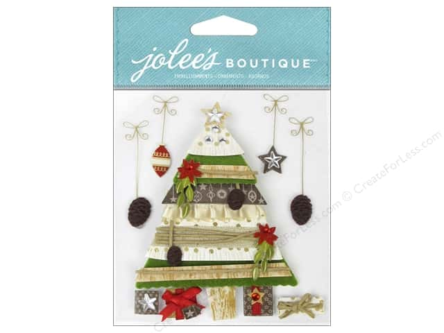 Jolee's Boutique Stickers Holiday Tree and Gifts