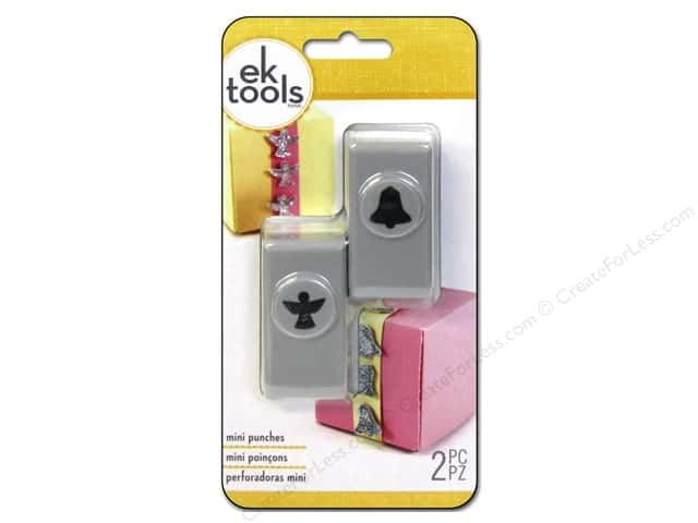 EK Success Mini Punch Set 2 pc. Angel & Bell