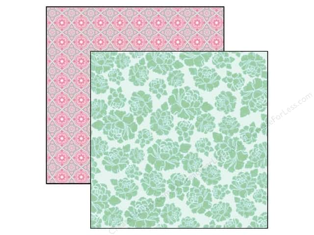 "Marion Smith Posh Collection Paper 12""x 12"" Brooklyn (20 sheets)"