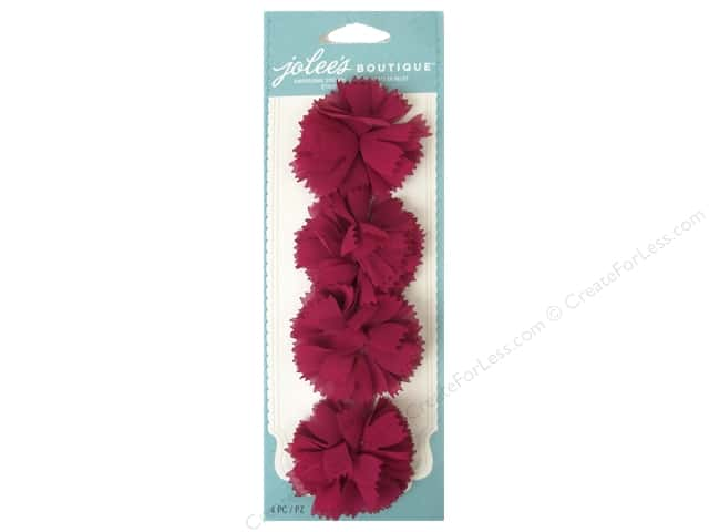 Jolee's Boutique Stickers Le Fleur Flower Mums Pink