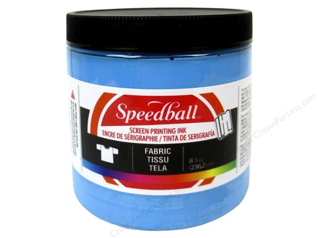 Speedball Fabric Screen Printing Ink 8 oz. Peacock