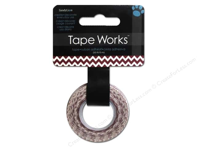 SandyLion Tape Works Chevron Deep Red