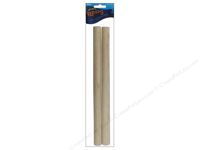 Darice Wood Dowels 12 x 7/8 in. 2 pc.