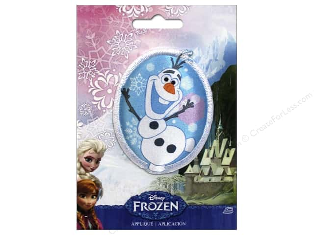 Simplicity Appliques Disney Frozen Iron On Olaf