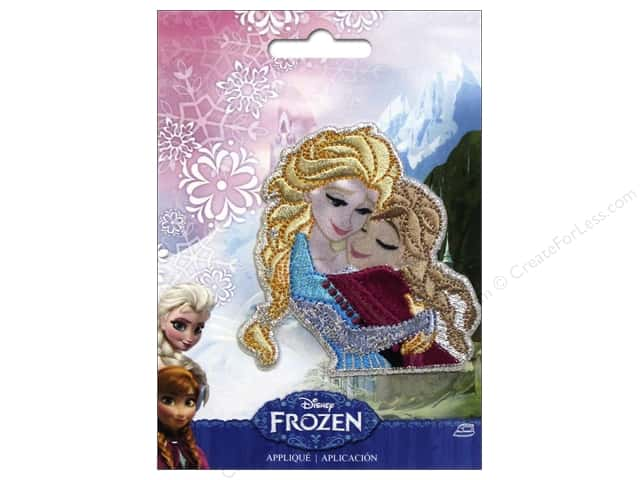 Simplicity Applique Disney Frozen Iron On Sisters