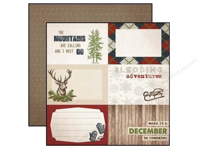 Carta Bella 12 x 12 in. Paper Warm And Cozy 4 x 6 in. Journal Cards (25 sheets)