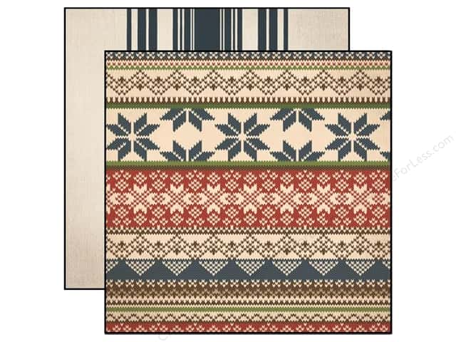 Carta Bella 12 x 12 in. Paper Warm And Cozy Nordic Sweater (25 sheets)
