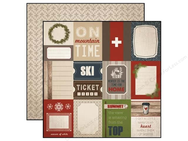Carta Bella 12 x 12 in. Paper Warm And Cozy 3 x 4 in. Journal Cards (25 sheets)