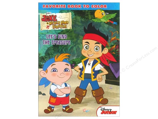 Bendon Favorite Book to Color Disney Jake And The Never Land Pirates
