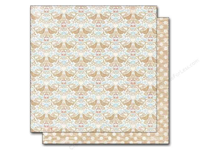 Authentique 12 x 12 in. Paper Cozy Hearty (25 sheets)