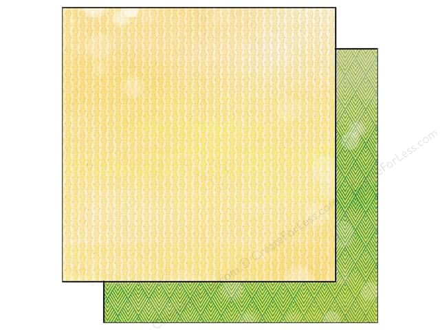 BasicGrey 12 x 12 in. Paper Vivienne Daffodil (25 sheets)