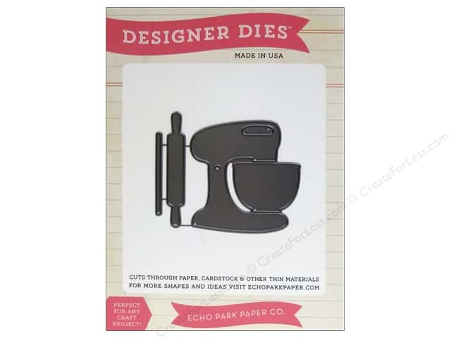 Echo Park Designer Dies Made From Scratch Collection Mixer & Rolling Pin