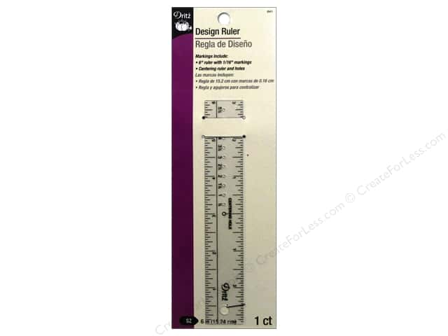 Dritz Ruler Design 6""