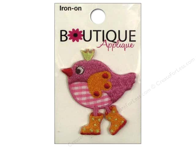 Blumenthal Boutique Applique Pink Bird