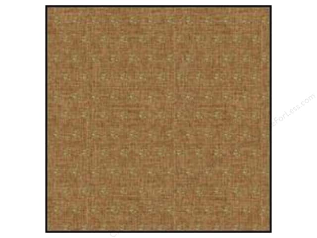 American Crafts DIY Shop 2 Burlap Sheets 12 x 12 in. Gold Glitter Dots (15 sheets)