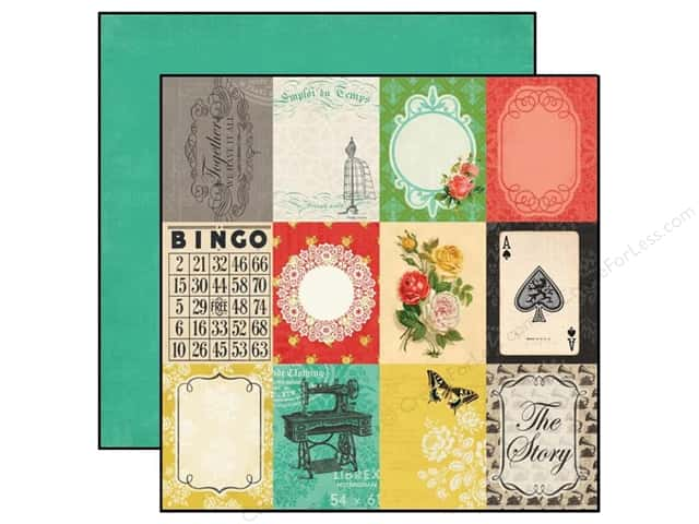 Carta Bella 12 x 12 in. Paper Yesterday 3 x 4 in. Journaling Cards (25 sheets)