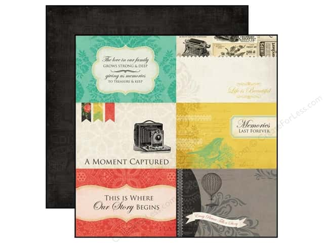 Carta Bella 12 x 12 in. Paper Yesterday 4 x 6 in. Journaling Cards (25 sheets)