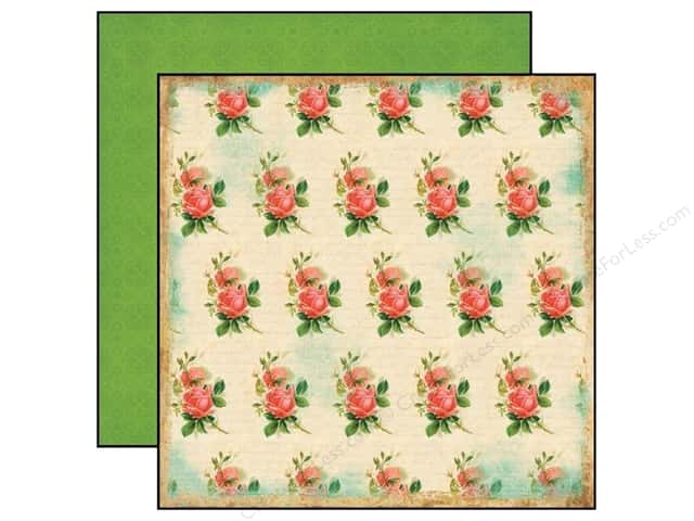 Carta Bella 12 x 12 in. Paper Yesterday Roses (25 sheets)
