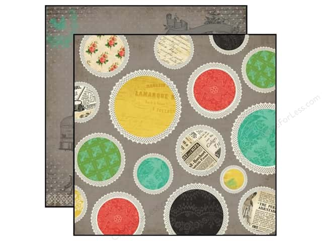 Carta Bella 12 x 12 in. Paper Yesterday Doilies (25 sheets)