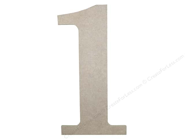 Sierra Pacific Decor MDF Number 9.5  in. 1