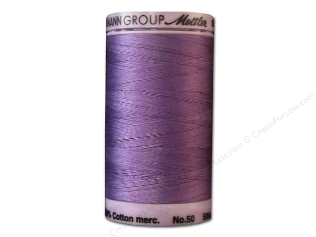 Mettler Silk Finish Cotton Thread 50 wt. 547 yd. #0029  English Lavender