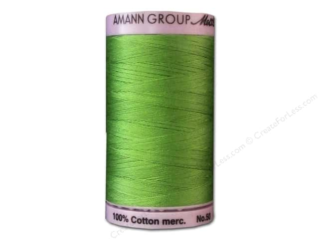 Mettler Silk Finish Cotton Thread 50 wt. 547 yd. #0092 Bright Mint