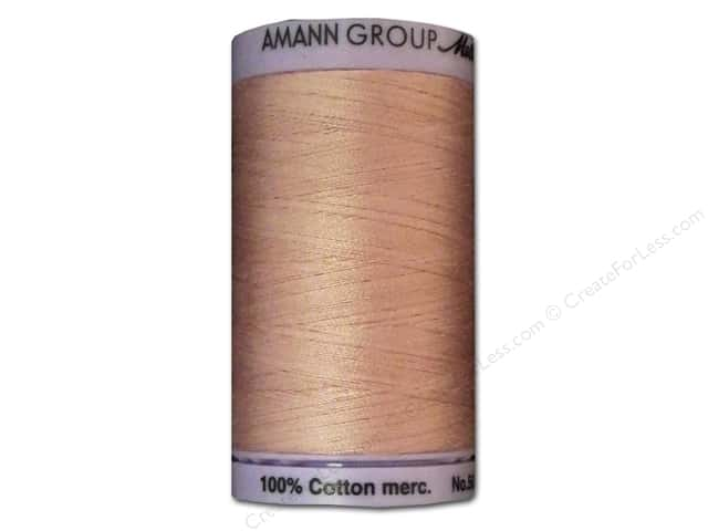 Mettler Silk Finish Cotton Thread 50 wt. 547 yd. #0608 Tea Rose