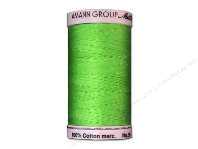 Mettler Silk Finish Cotton Thread 50 wt. 547 yd. #1099 Light Kelly