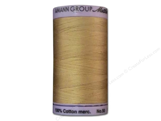 Mettler Silk Finish Cotton Thread 50 wt. 547 yd. #0260 Oat Straw