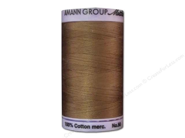 Mettler Silk Finish Cotton Thread 50 wt. 547 yd. #0280 Walnut
