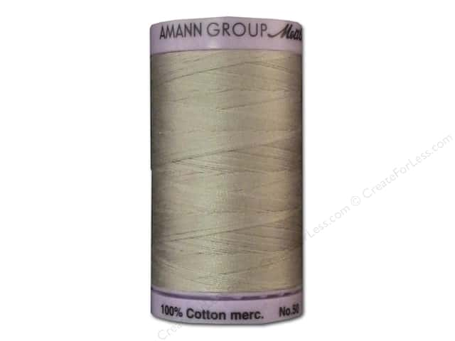 Mettler Silk Finish Cotton Thread 50 wt. 547 yd. #0319 Cloud Gray