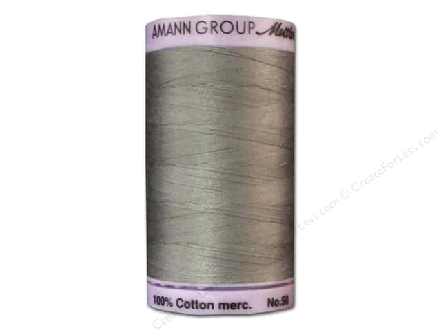 Mettler Silk Finish Cotton Thread 50 wt. 547 yd. #0322 Rain Cloud
