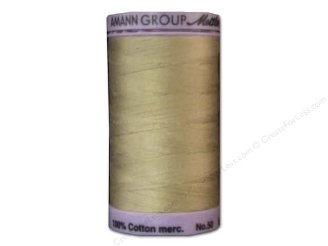 Mettler Silk Finish Cotton Thread 50 wt. 547 yd. #0537 Oat Flake