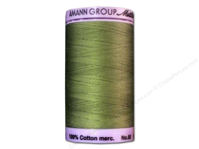 Mettler Silk Finish Cotton Thread 50 wt. 547 yd. #0840 Common Hop