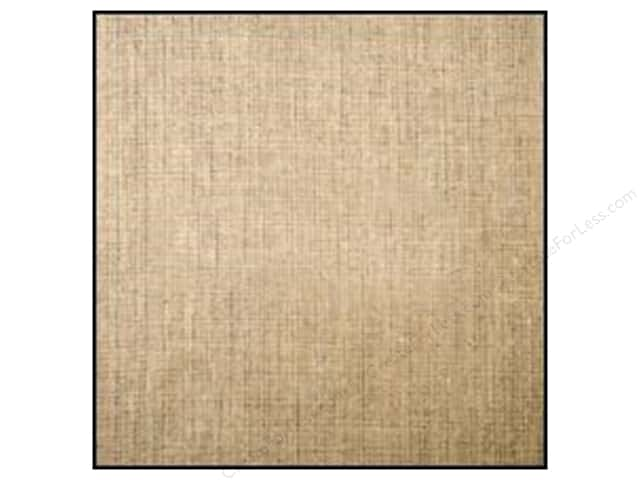 American Crafts DIY Shop 2 Burlap Sheets 12 x 12 in. Natural (12 sheets)