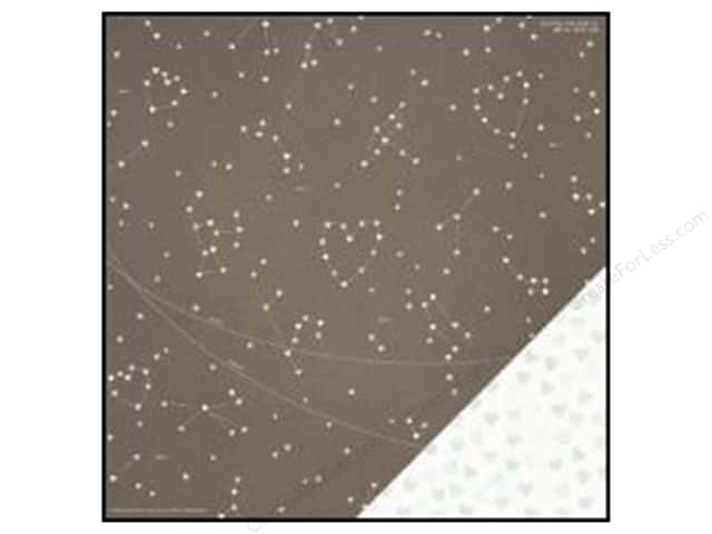 Crate Paper 12 x 12 in. Paper Kiss Kiss Constellation (25 sheets)