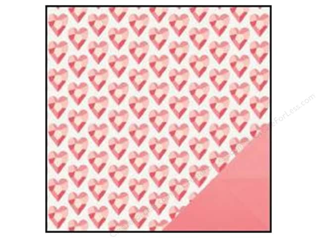Crate Paper 12 x 12 in. Paper Kiss Kiss Love Rocks (25 sheets)