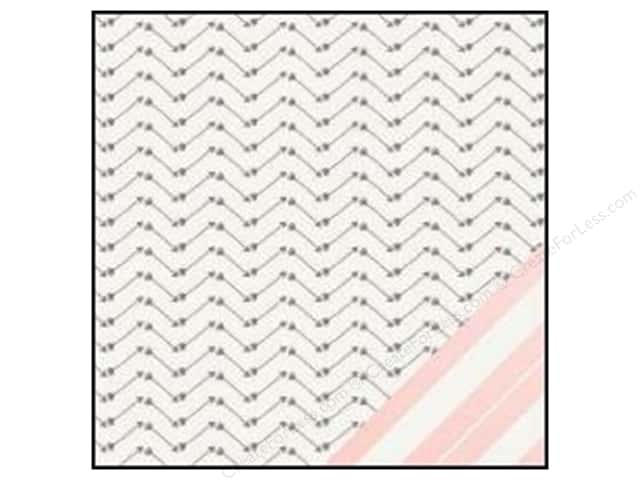 Crate Paper 12 x 12 in. Paper Kiss Kiss Darling (25 sheets)