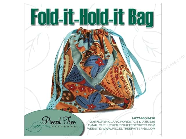 Pieced Tree Fold-It-Hold-It Bag Pattern