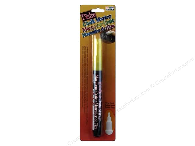 Uchida Bistro Chalk Marker Fine Point Yellow