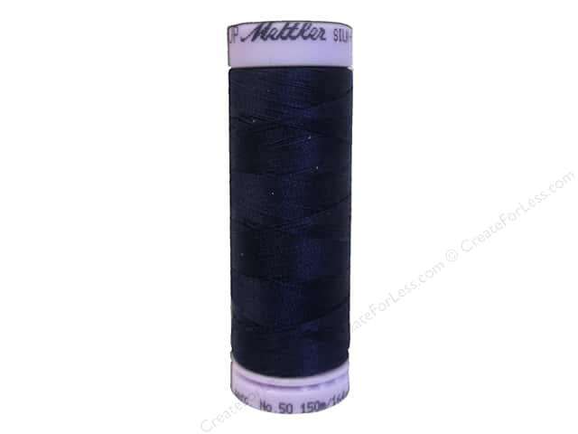 Mettler Silk Finish Cotton Thread 50 wt. 164 yd. #0016 Dark Indigo