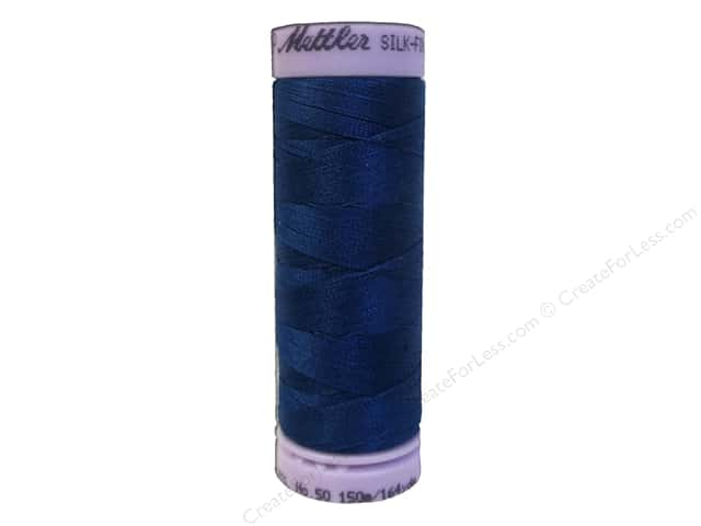 Mettler Silk Finish Cotton Thread 50 wt. 164 yd. #0024 Colonial Blue