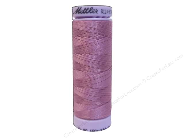 Mettler Silk Finish Cotton Thread 50 wt. 164 yd. #0052 Cachet